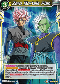 BT07-096UC Zero Mortals Plan Foil