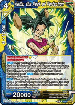 BT07-122UC Kefla, the Peak of Perfection Foil