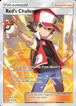 SM10-213/214UR Red's Challenge (Full Art)