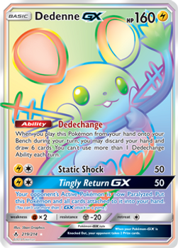SM10-219/214SCR Dedenne GX (Secret)