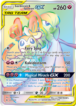 SM10-225/214SCR Gardevoir & Sylveon GX (Secret)