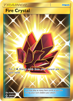 SM10-231/214SCR Fire Crystal (Secret)