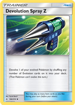SM10-166/214UC Devolution Spray Z Rev Holo