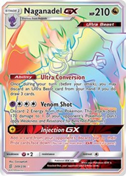 SM11-249/236SCR Naganadel GX (Secret)
