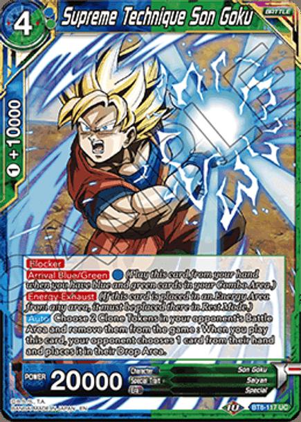 BT8-117UC Supreme Technique Son Goku Foil