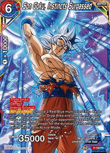 P-198P Son Goku, Instincts Surpassed