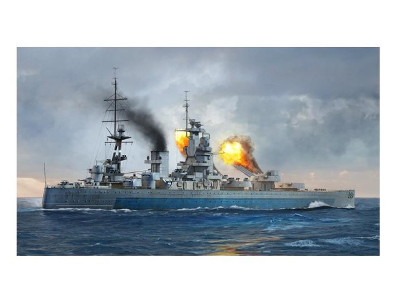Trumpeter 06717 1//700 HMS Nelson 1944