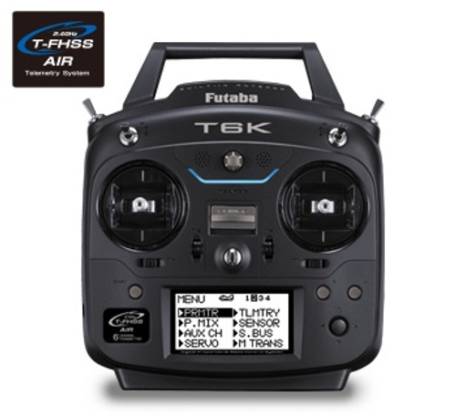 Futaba  #6KH 6Channel Transmitter and Receiver 2.4Ghz T-FHSS