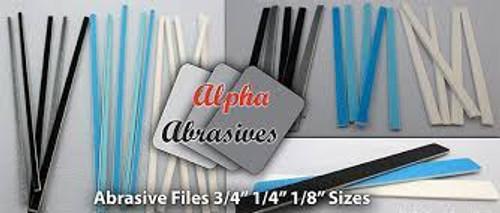Alpha Abrasives #232-306 Sanding Files 120-240 Grit