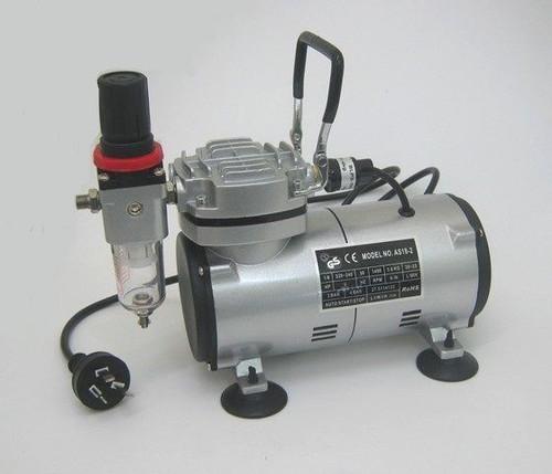 AC-130P Heavy Duty Pro Air Compressor w/Air Brush