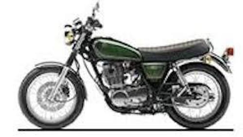 Aoshima #001653 1/12 1995 Yamaha SR400S