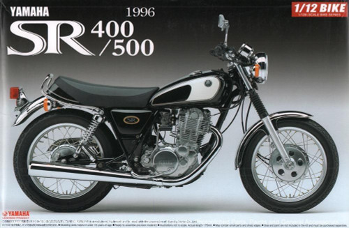 Aoshima #5169 1/12 Yamaha SR400/500 1996 Motorbike kitset