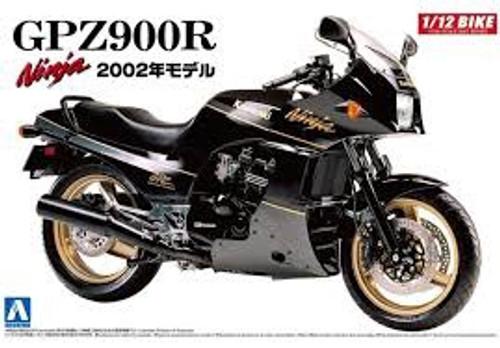 Aoshima #4287 1/12 2002 Kawasaki GPZ900R Ninja