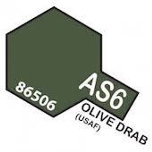 Tamiya Colour Spray Paint #86506 AS-6 Olive Drab