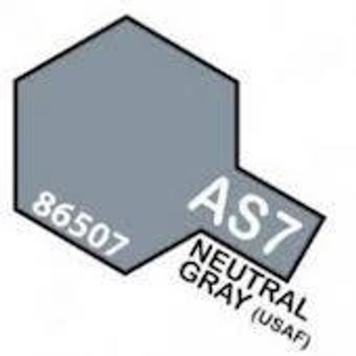 Tamiya Colour Spray Paint #86507 AS-7 Neutral Gray