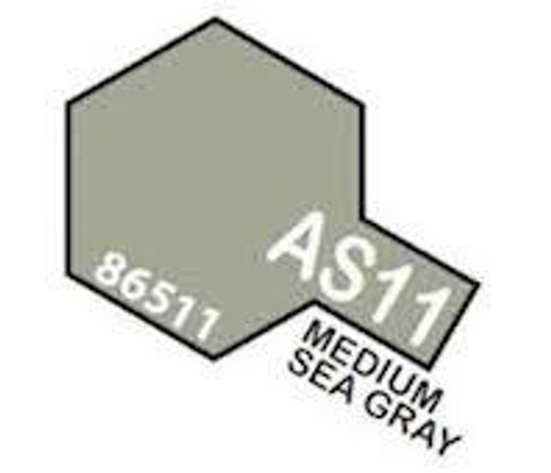 Tamiya Colour Spray Paint #86511 AS-11 Medium Sea Grey