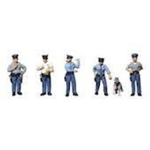 Scenic Accents # A1822 HO Policemen