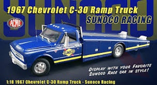 Acme #A1801701 1967 Chevy C30 Ramp Truck (Sunco Racing)