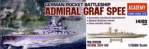 "Academy #14103 1/350 German Pocket Battleship ""Admiral Graf Spee"""