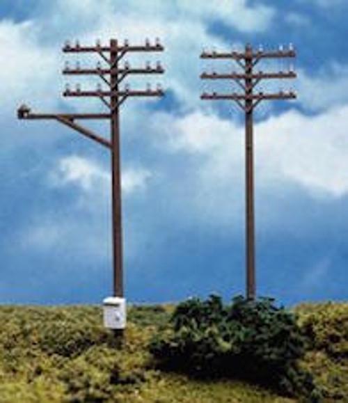 Atlas #775 HO 12 Telephone Poles