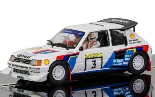 Scalextric # C3751 1/32 Peugeot 205 T16
