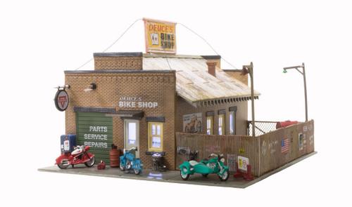 Landmark Structures #BR5045 Deuce's Bike Shop