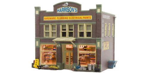 Landmark Structures #BR5022 HO Harrison's Hardware