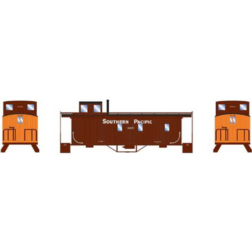 Athearn #ATH14461 N Scale Wood Side Caboose SP
