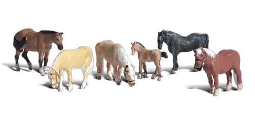 Scenic Accents #A2141 N Farm Horses