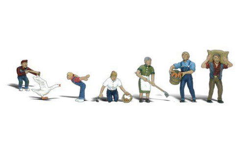 Scenic Accents #A2152 N Scale Farm People