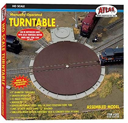 "Atlas # 150-2790    7 1/2"" .  N  Manually Operated Turntable"