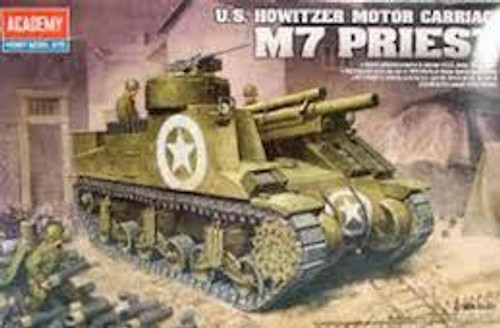 Academy #13210 1/35 M7 Priest Howitzer Motor Carriage