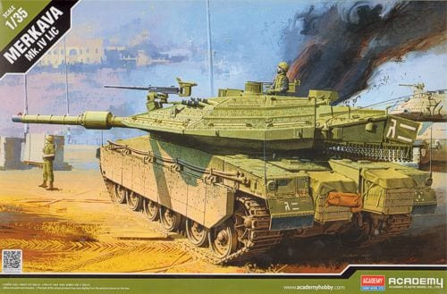 Academy #13227 1/35 Merkava Mk.IV LIC