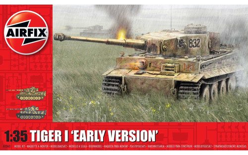 Airfix #1363 1/35 Tiger I 'Early Version'