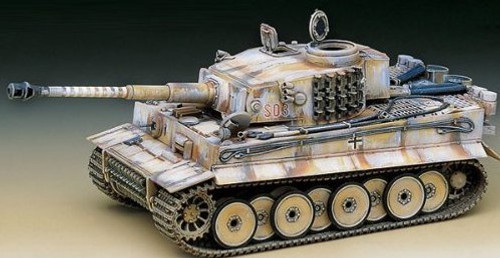 Academy #13264 Tiger-1 Early Production