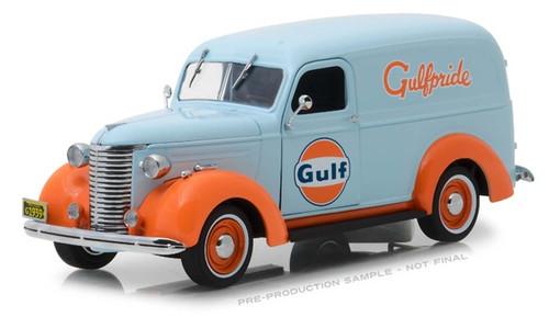 Greenlight #85011 1/24 1939 Chevrolet Panel Truck -Gulf
