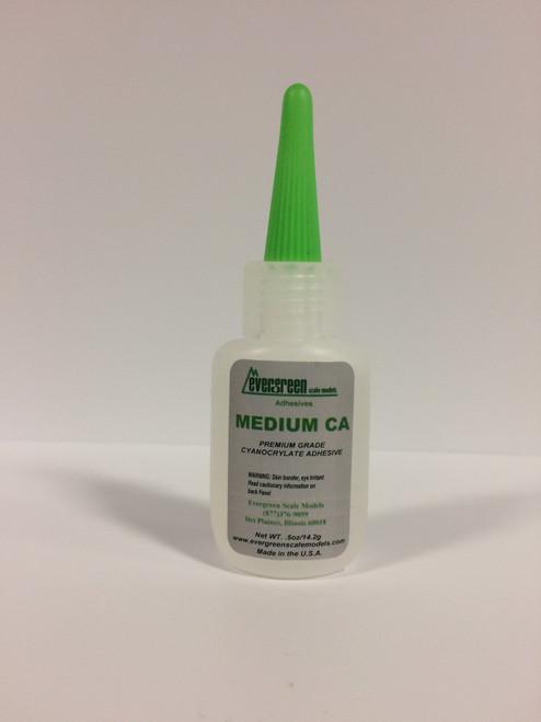 Evergreen #62 1/2oz (14.2g) Medium CA Glue