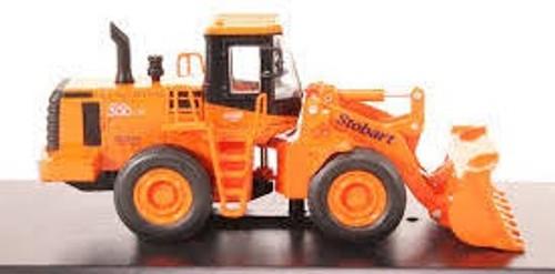 "Atlas Editions #4664103 1/76 Doosan Daewoo Mega 300-V WO54 Excavator - ""Stobart Rail"""