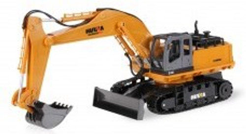 Huina #1520 RC Wheeled Loader with Die Cast Bucket (2.4G,6CH)