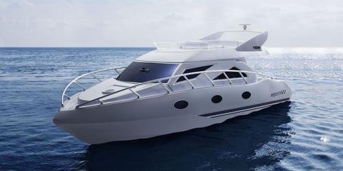 Kyosho #40133B Majesty600 Electric Ready Set Boat