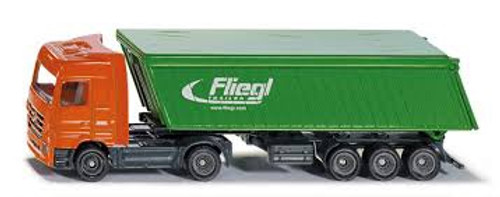 Siku # 1796 1/87 Truck With Covered Trailer