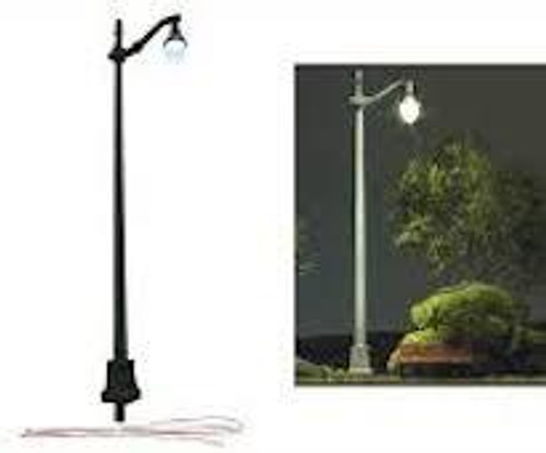 Just Plug #JP5631 3 HO Scale Arched Cast Iron Street Lights