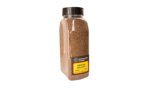 Woodland Scenics #B1379 Medium Ballast Brown Shaker
