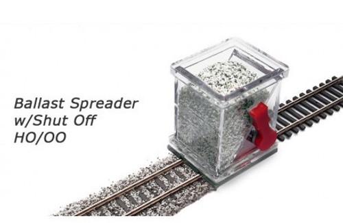Proses #BS-HO-04   HO Ballast Spreader W/Shut Off