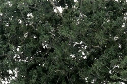 Woodland Scenics #F1130 Fine Leaf Foliage Dark Green