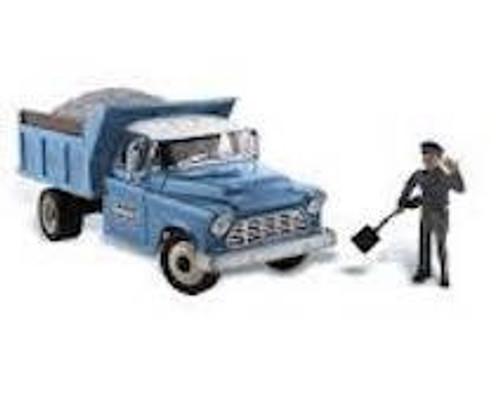 Auto Scenes # AS5550 1/87 Rocky's Road Repairs