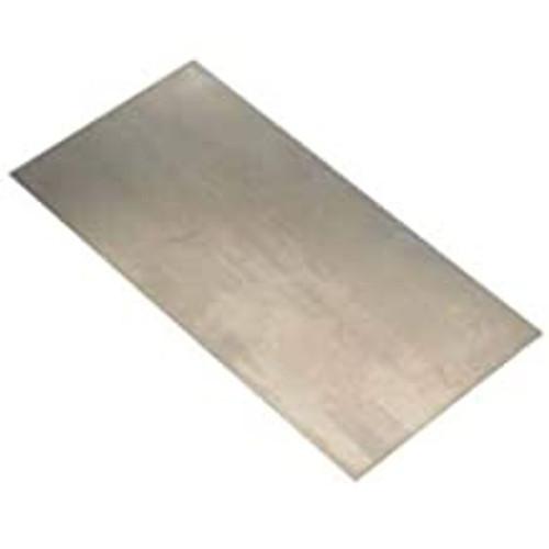 "K&S #7181 Stainless  Steel Sheet .012x6x12"" (30 gauge)"