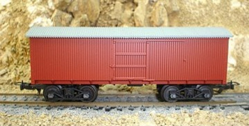 Frateschi #2078 HO Old Box Car NZR Red Oxide