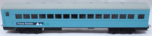 Frateschi #2487 HO Carbon Steel Passenger Car (Tranz Scenic Logo)