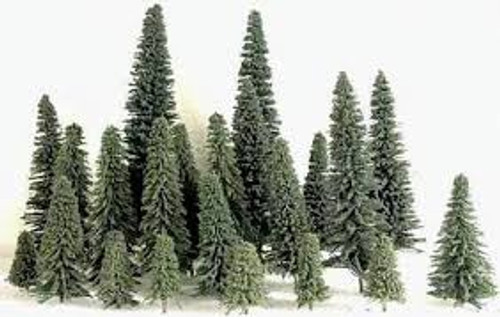 "Grand Central Gems #295-T2 Pine Trees 6""-7"" 10 Pces"